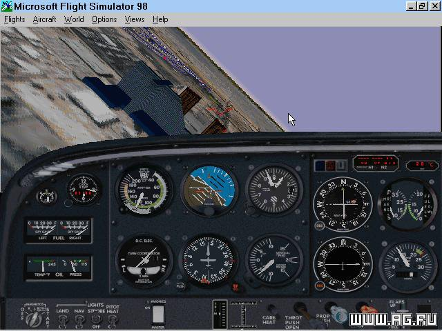 Microsoft Flight Simulator '98 screenshot