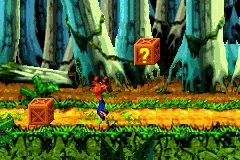 Crash Bandicoot: The Huge Adventure screenshot