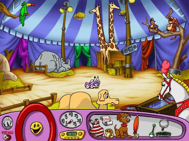 Putt-Putt Joins the Circus screenshot