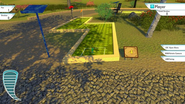 3D MiniGolf screenshot