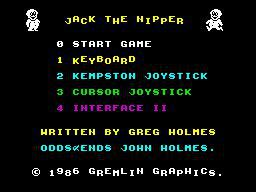 Jack the Nipper screenshot