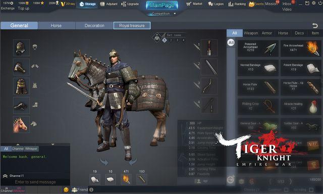 Tiger Knight: Empire War screenshot