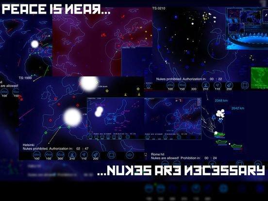 Radzone: The Nuclear War Game screenshot