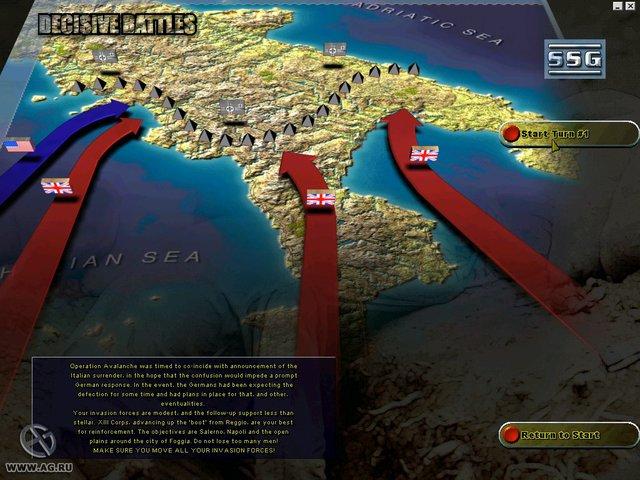 Decisive Battles of World War II: Battles in Italy screenshot