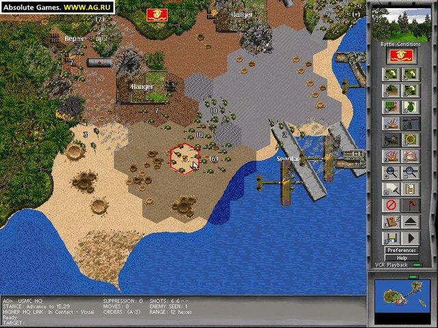 Steel Panthers: World at War - Guadalcanal 1942 screenshot