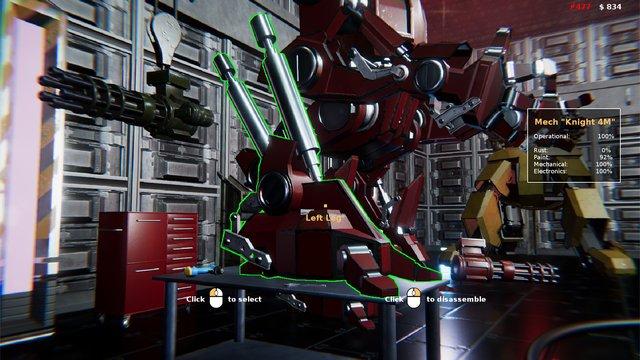 Mech Mechanic Simulator screenshot