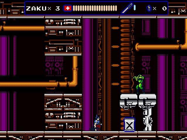 Oniken screenshot