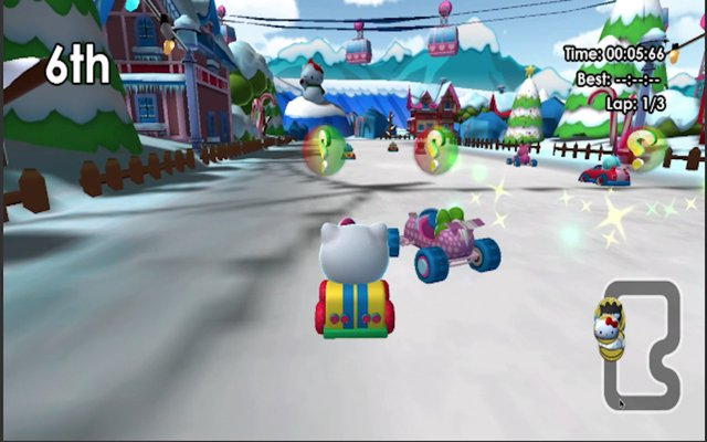 Hello Kitty and Sanrio Friends Racing screenshot