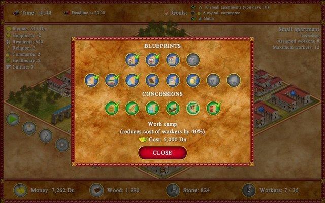 Romopolis screenshot