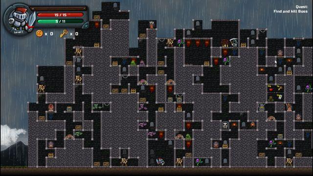 Dungetris screenshot