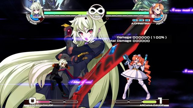 Arcana Heart 3 screenshot