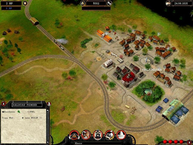 Магнаты железных дорог screenshot