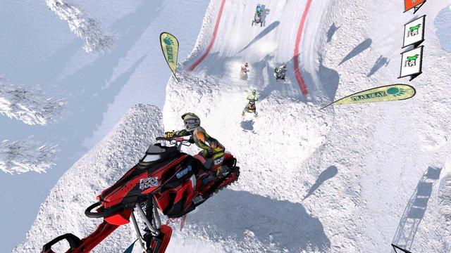 Snow Moto Racing Freedom screenshot