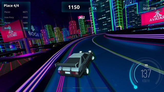 Driftpunk Racer screenshot