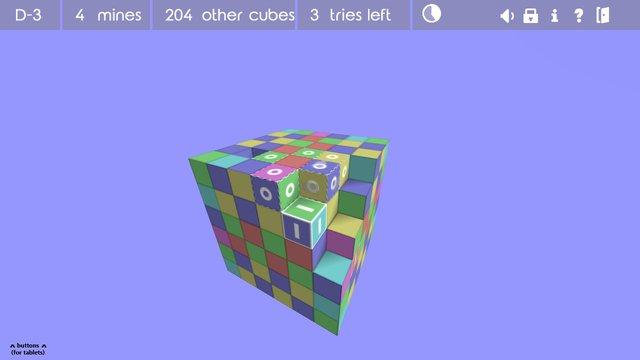 Asteroids Minesweeper screenshot