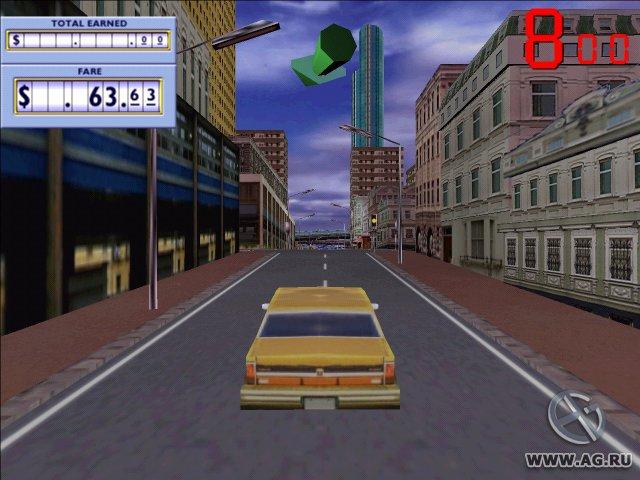 Taxi Racer screenshot
