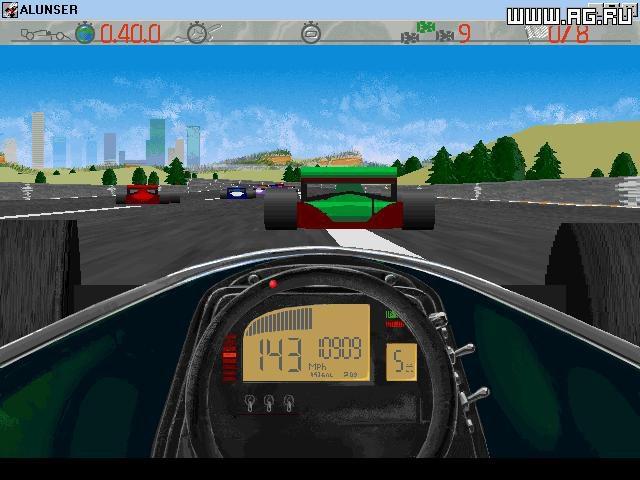 Al Unser, Jr. Arcade Racing screenshot