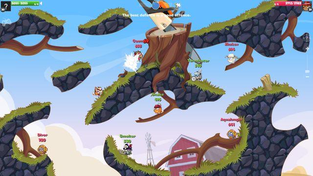 Wormix screenshot