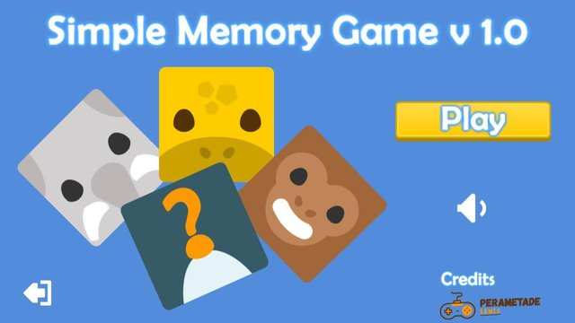 Template construct 2 - Memory Game screenshot