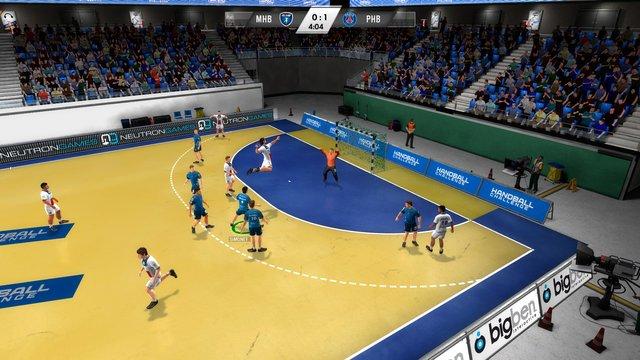 IHF Handball Challenge 14 screenshot