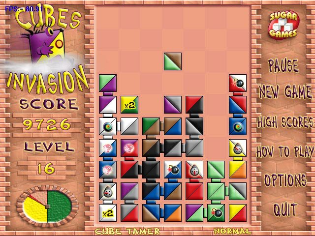 Cubes Invasion screenshot