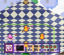 Kirby's Dream Course (1994) screenshot
