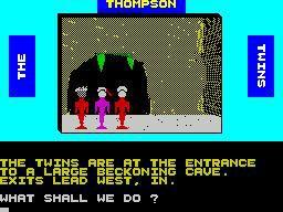 The Thompson Twins Adventure screenshot