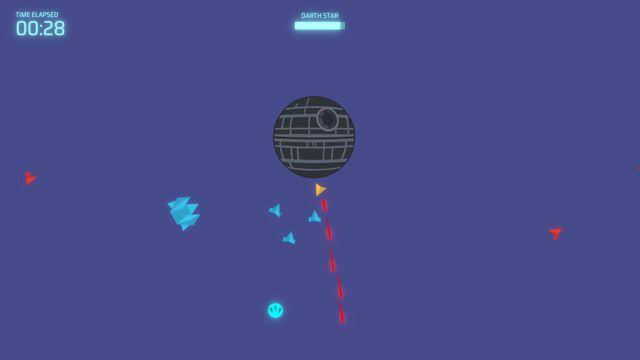 Space Wars: Darth Star screenshot
