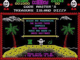 Treasure Island Dizzy screenshot