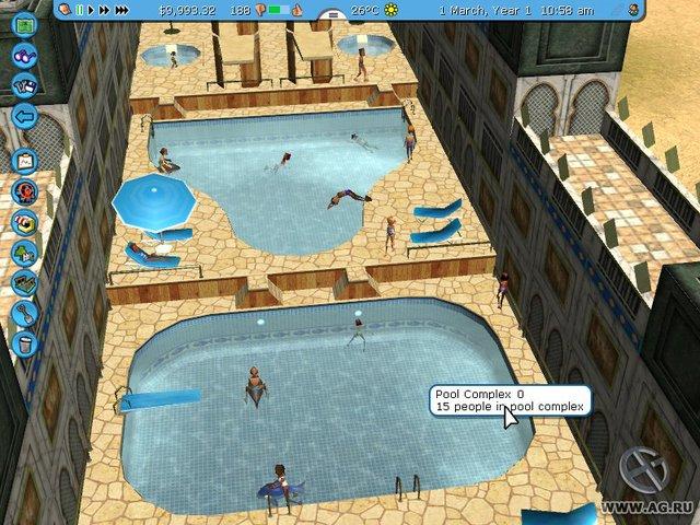 RollerCoaster Tycoon 3: Soaked! screenshot