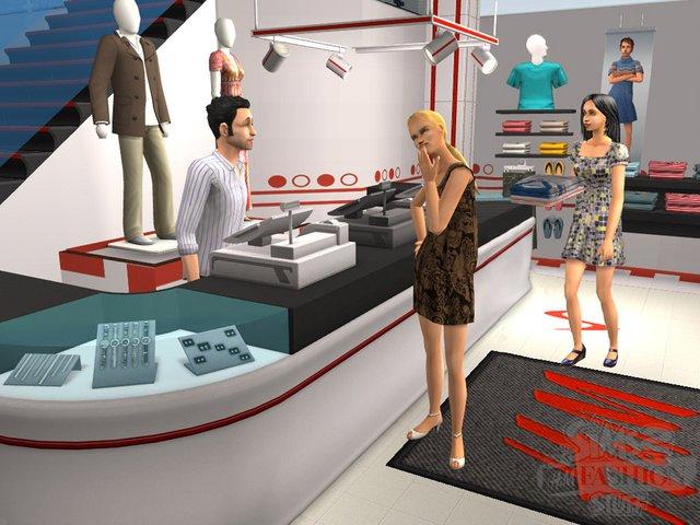 Sims 2: Стиль - H&M каталог screenshot