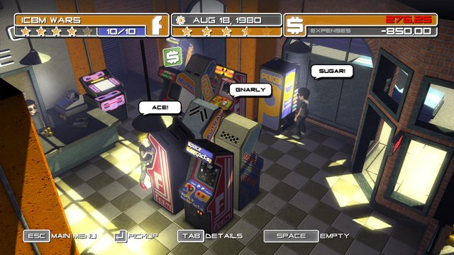Arcadecraft screenshot