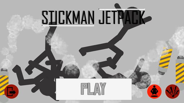 Stickman Jetpack screenshot