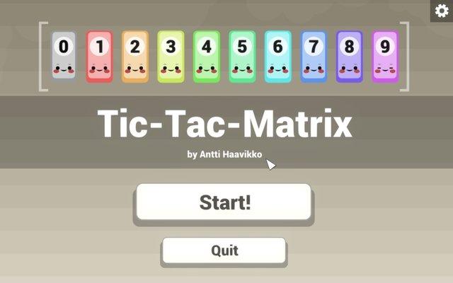 Tic-Tac-Matrix screenshot