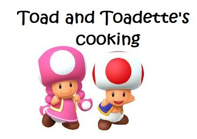 Toad and Toadette's cooking screenshot