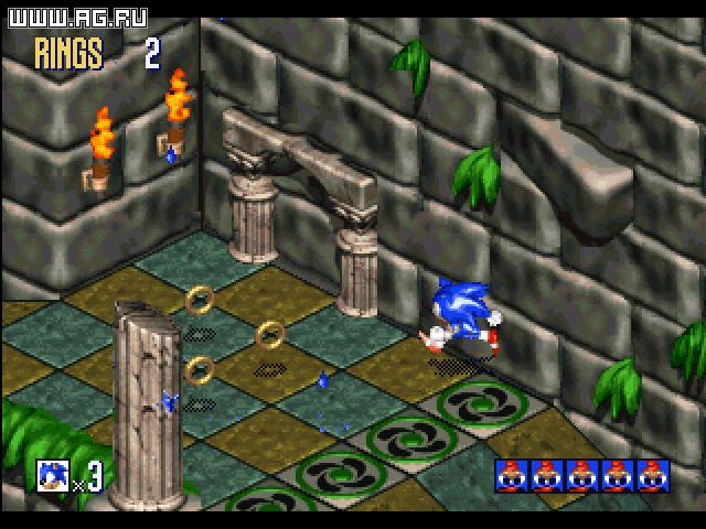 Sonic 3D: Flickies' Island (aka Blast)