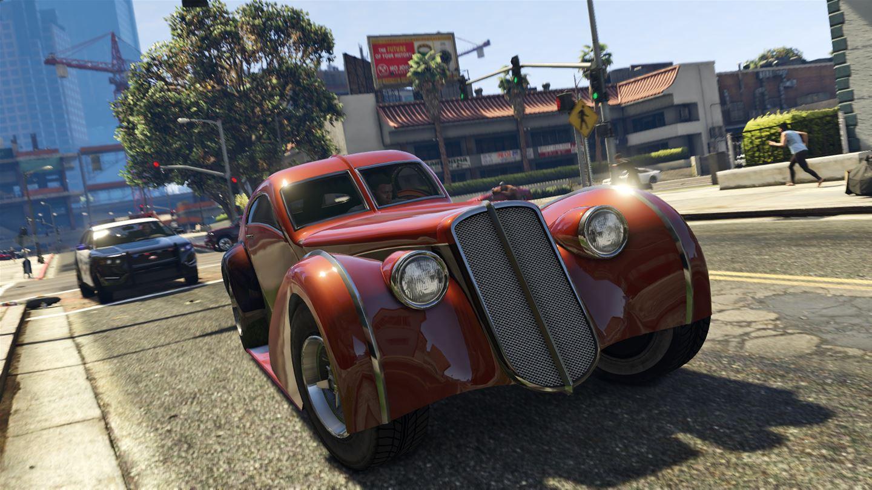 Скриншот из игры Grand Theft Auto V
