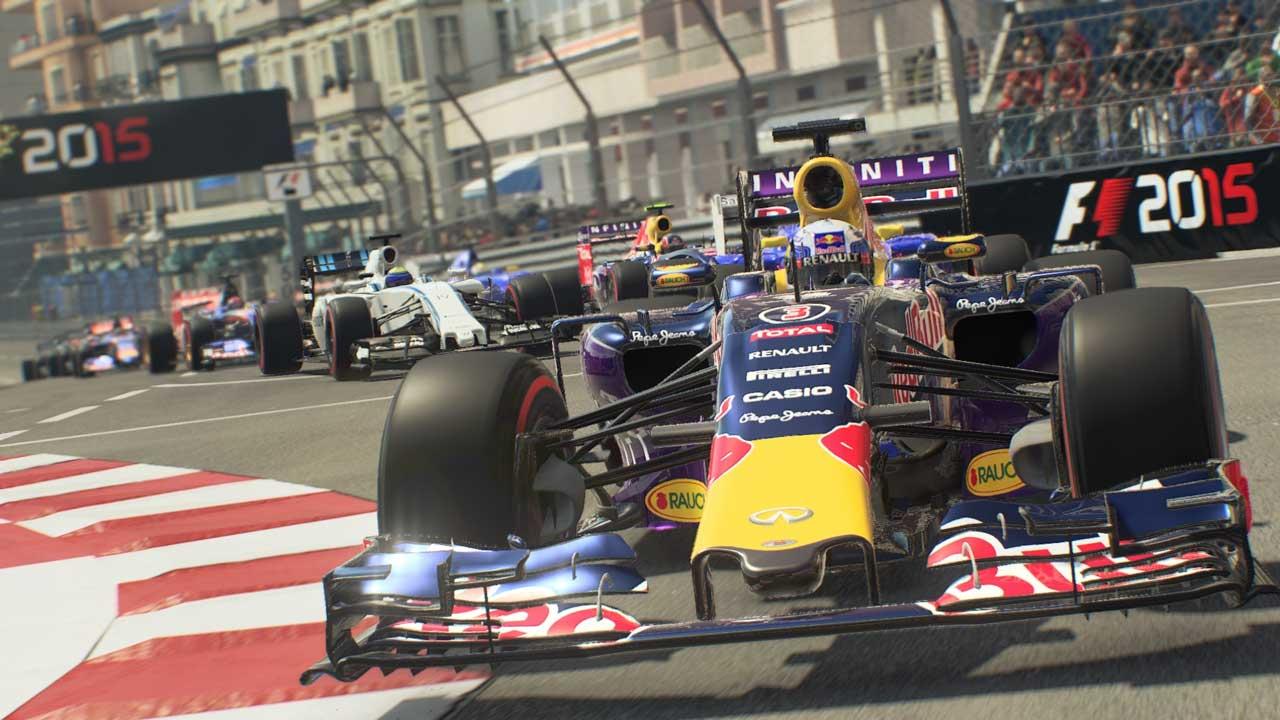 Скриншот из игры F1 2015