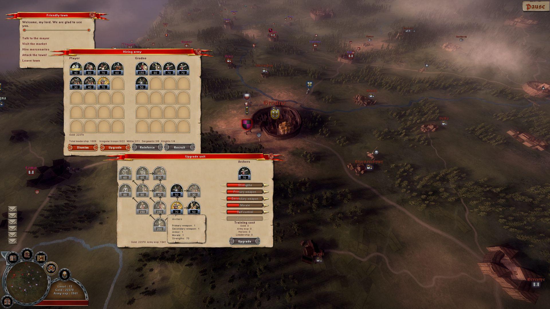 Скриншот из игры Тевтонский орден