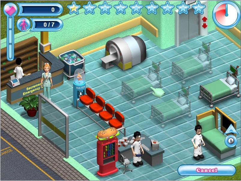 Игры больница похудения