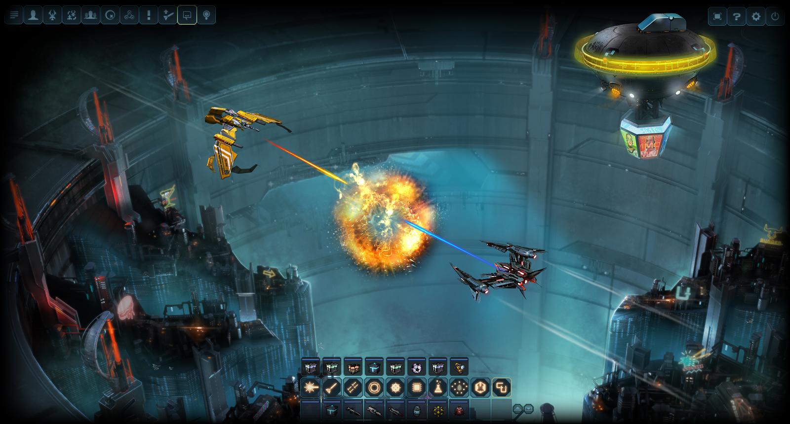 Скриншот из игры DarkOrbit: Reloaded