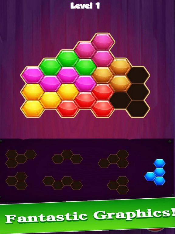 1010 Hexagon Puzzle: Relax G…