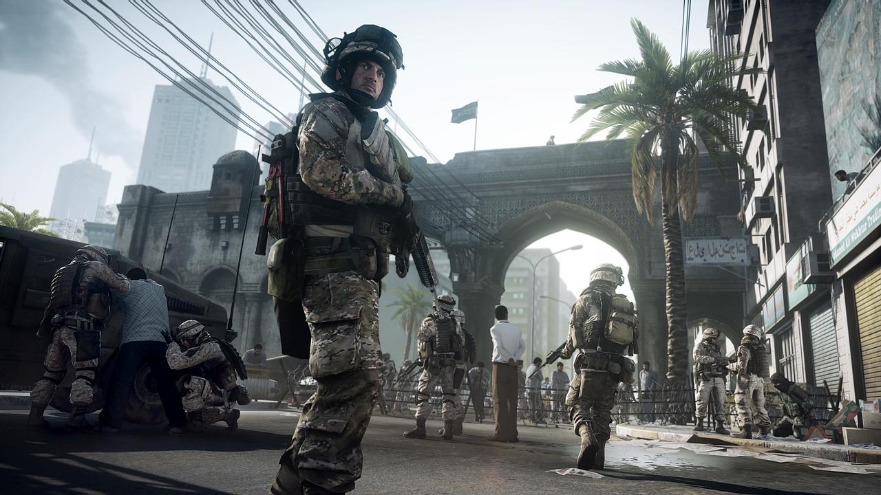 Прохождение Battlefield 3