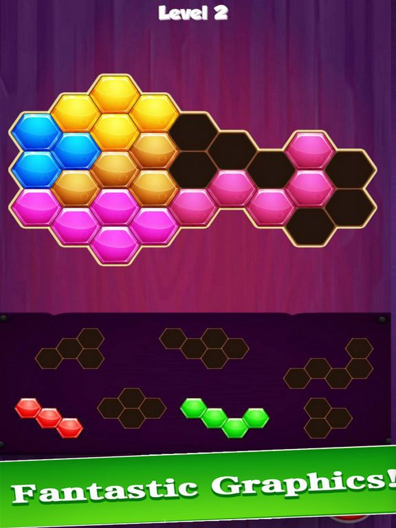 1010 Hexagon Puzzle: Relax Gam