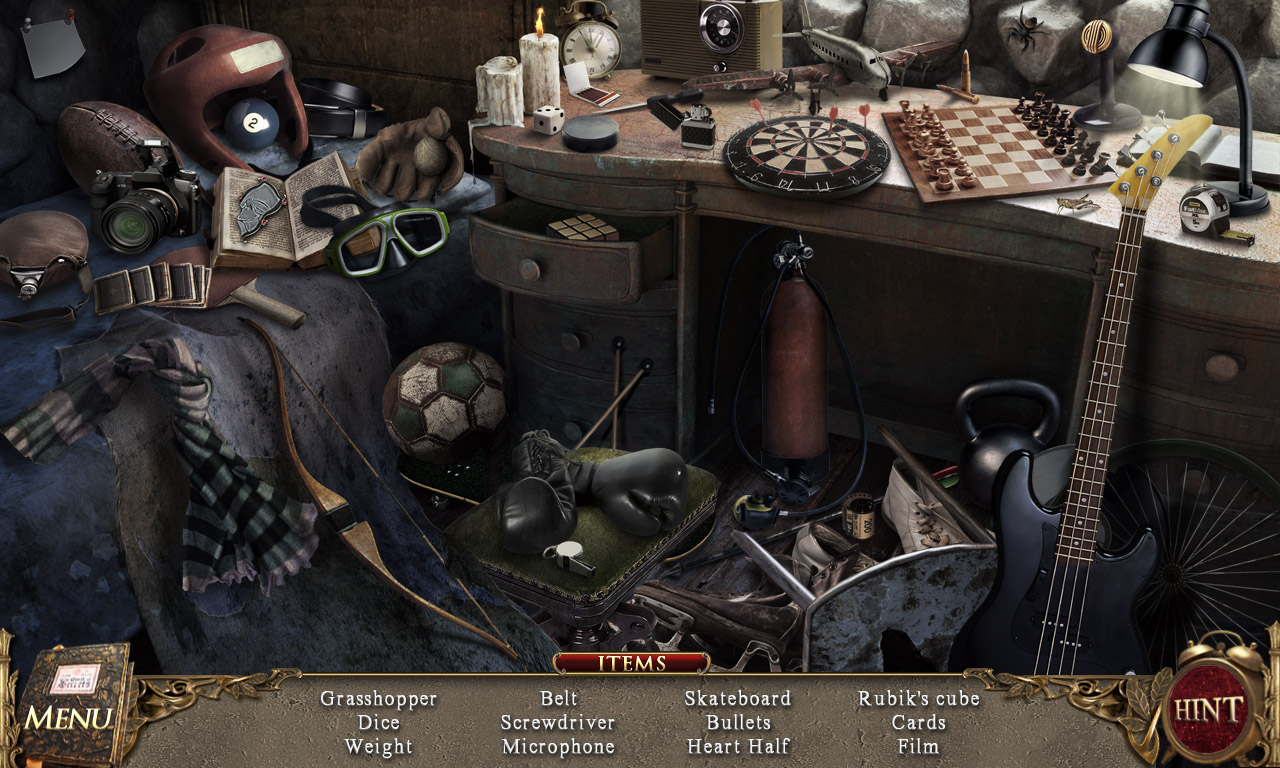 Скриншот из игры The Book of Desires