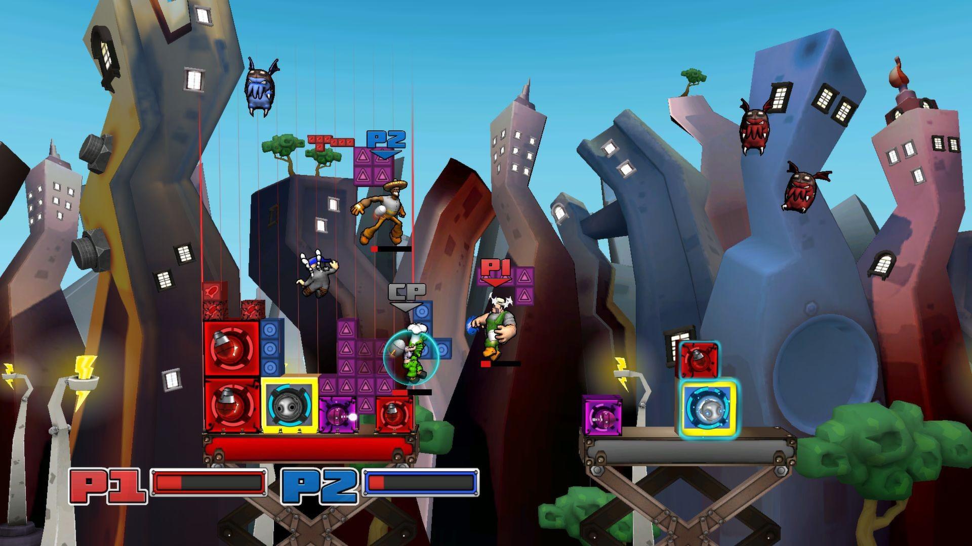 Скриншот из игры Slam Bolt Scrappers