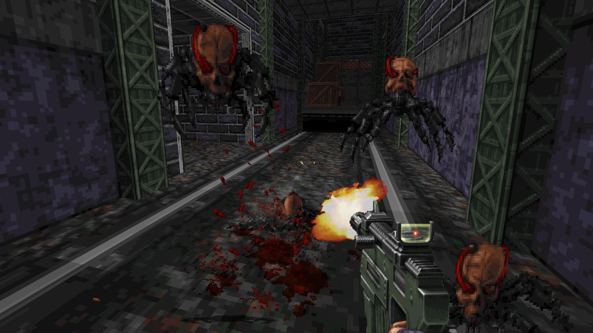 Скриншот из игры Ion Fury