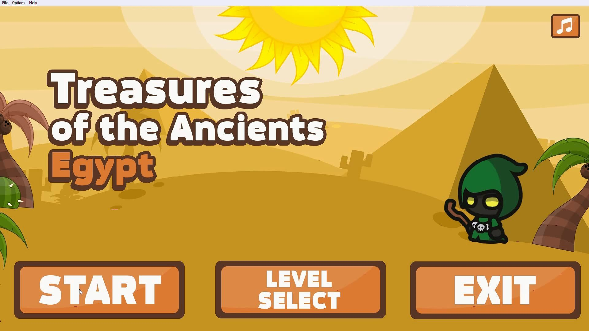 Скриншот из игры Treasures of the Ancients: Egypt