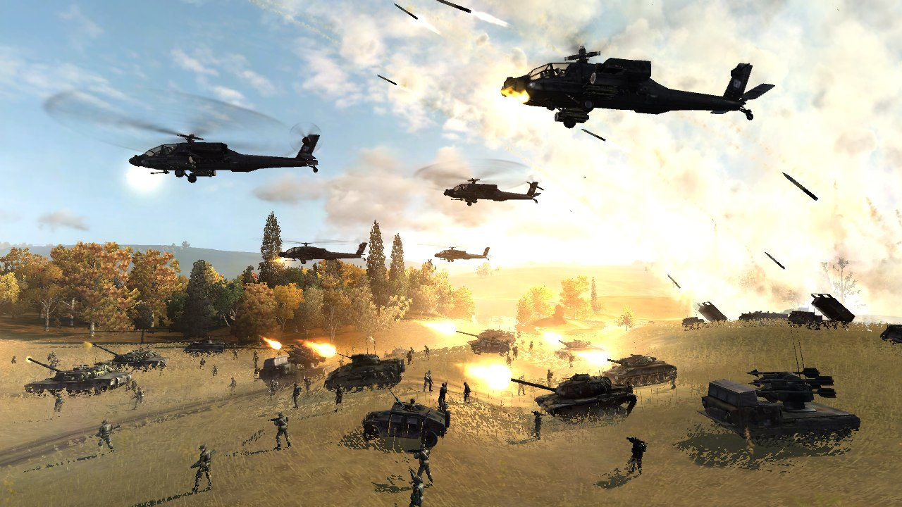 Скриншот из игры World in Conflict: Soviet Assault
