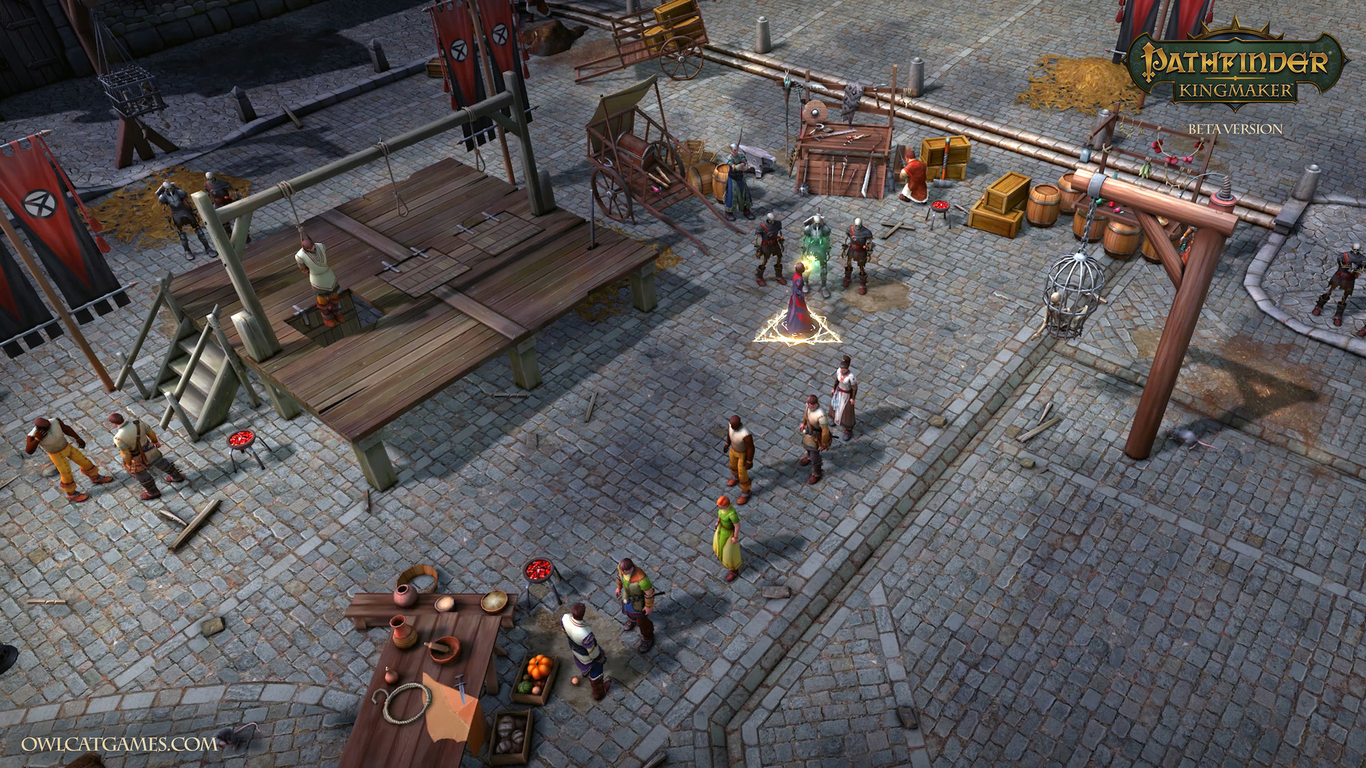 Pathfinder: Kingmaker - release date, videos, screenshots, reviews